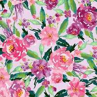 Riley Blake  Hampton Garden Main lavender C9440-LAVEN purple fabric*