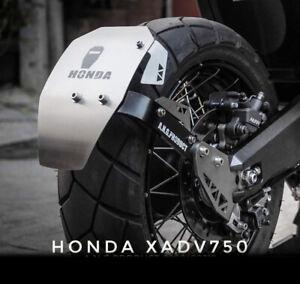 HONDA X-ADV XADV 750 REAR FENDER SPLASH GUARD MUDGUARD HUGGER ALUMINIUM