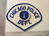 1st District Central Chicago Police Department Officer Patch Illinois Re Pop