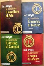 Io Lancillotto Jack Whyte lotto libri storia destino Camelot Artù SERIE COMPLETA