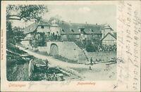 Ansichtskarte Grötzingen Karlsruhe Augustenburg 1903  (Nr.9343)