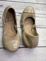 Dexflex comfort Women Sz 8 1/2 Nude Ballet Synthetic Shoes 140574