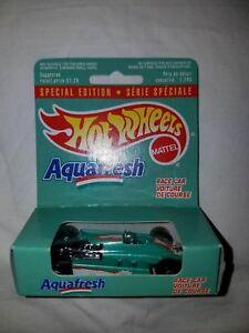 Hot Wheels - Aquafresh - Special Edition Race Car - 1992