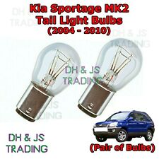 Kia Sportage Tail Light Bulbs Pair of Rear Tail Light Bulb Lights MK2 (04-10)