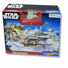 Hot Wheels Star Wars 'Hoth Echo Base Battle' Play Set Toy Brand New Gift