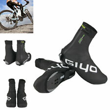 Waterproof Cycling Black Shoe Cover Winter Thermal Fleece Overshoes M/L/XL