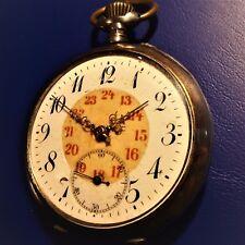 """Señores reloj de bolsillo, """"dürrstein"""", zylinderhemmung, buena función, 1905 aprox."""