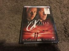 The X-Files: Fight the Future (DVD, 2001, Sensormatic Widescreen/ DTS) NEW