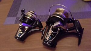 Zebco 5050 and Zebco 5010 spinning reels