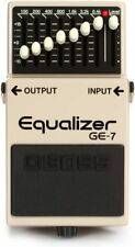 BOSS GE-7 Equalizer GUITAR EFFECTS PEDAL EQ w/ Free Pick