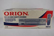 Orion vr-313 American NTSC formato VIDEO RECORDER VIDEOREGISTRATORE VCR VHS (NEW/NUOVO)