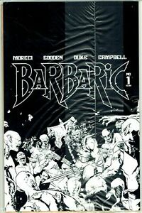 BARBARIC #1 VAULT 2021 First Print Sealed Undressed (Nude) Variant Comic NM (B)