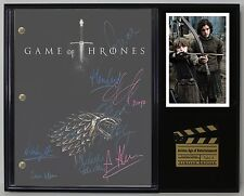 "GAME OF THRONES LTD EDITION REPRODUCTION TELEVISION SCRIPT DISPLAY ""C3"""