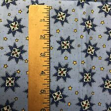 """Tela Gris Con Mini Blanco Estrellas//material 1//2 YD X 44/"""" de ancho de Costura Acolcha"""
