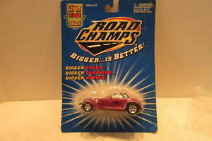 2000 Road Champs 1/43 Scale Die Cast Plymouth Prowler Toy Car