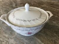 Royal Swirl by Fine China of Japan ROUND COVERED VEGETABLE BOWL, Japan