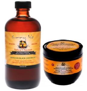 Sunny Isle™ Jamaican Black Castor Oil + Damaged Hair Repair Mask Treatment Cream