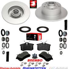 Bremsen SET Hinten 245mm+Radlagersatz+2xABS Ring  AUDI A4 8D2  B5 Avant