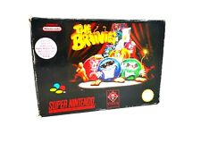 The Brainies Puzzle Game For Super Nintendo SNES World Post! Boxed VGC 1994 Rare