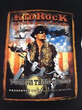 Kid Rock Tour for the Troops 2009 Shirt - Medium