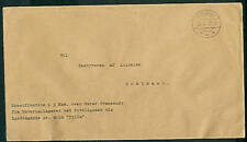 GREENLAND 1944 Unfranked Official Mail from Kutdligssat
