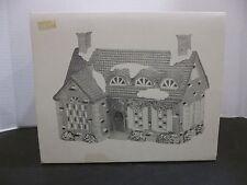 Department Dept 56 christmas snow village stonehurst house lighted building
