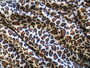 NEW Pet blanket Dog Cat puppy kitten BROWN LEOPARD PRINT Soft fleece bed 3 sizes