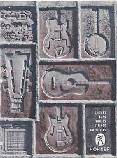 #MISC-0466 - 1969 HOHNER GUITAR BANJO AMPS  music instrument catalog