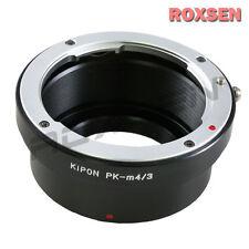 Kipon Pentax K PK Lens to Micro 4/3 Mount M43 Adapter GH4 E-P5 PL6 GF6 GX7 OM-D