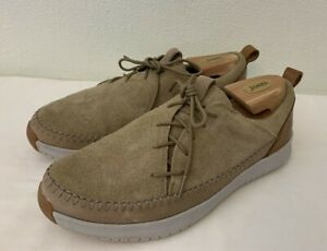 Clarks Active Air-Light Brown Suede/Leather Comfort Moccasin Shoes UK 9.5 EU 44