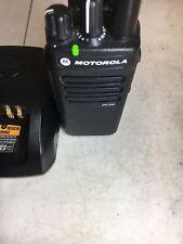 Motorola XPR3300 VHF 136-174mhZ MotoTRBO digital radio AAH02JDC9JA2AN XPR XBR