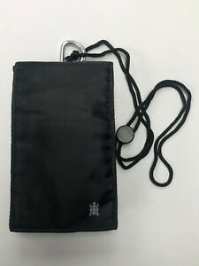Universal Tortoise Trendy Phone Pouch Wallet With Carabinier neck safety string