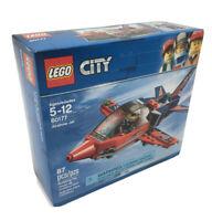 LEGO City Airshow Jet 60177 Building Kit 87 Piece