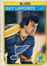 1982-83 O PEE CHEE / OPC HOCKEY #305 Guy Lapointe  St Louis Blues