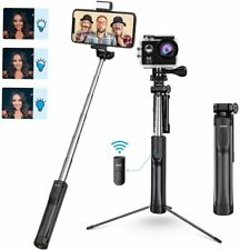 Mpow PA168A 3 in 1 Tripod Selfie Stick with Bluetooth Remote