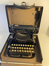Vintage 1920's Corona Model 3 Folding Typewriter with Case