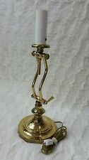 Brass Swivel End Side Desk Table Lamp Underwriters Laboratories inc