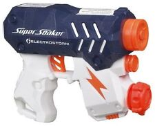 New NERF Super Soaker ELECTROSTORM Blaster ~Motorized Water Pistol ELECTRO STORM
