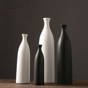 Minimalist Desktop Ceramic Flower Vase Fresh Vases Office Home Wedding Decor