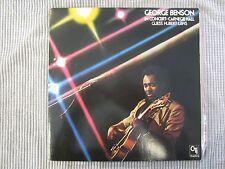 GEORGE BENSON IN CONCERT~ CARNEGIE HALL  VINYL RECORD LP / Guest: HUBERT LAWS