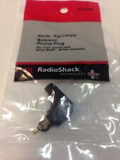 Stereo • Right-Angel Submini Phone Plug #274-0298 By RadioShack