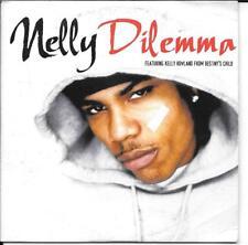 CD SINGLE 2 TITRES--NELLY FEAT.KELLY ROWLAND--DILEMMA--2002