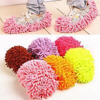 1x/1Pair Slipper Dust Mop Clean Shoe Cover Cleaning Towel Floor Indoor Home Tool