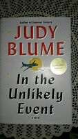 In the Unlikely Event by Judy Blume (2015, Signed, 1st, Hardcover)