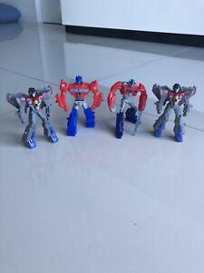 Transformers Figures Bundle Of 4