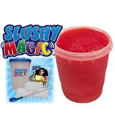 New Blue Slushy Magic W/ Recipe Guide Kids Jumbo Icee Cold Freeze Treat Slurpy