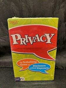 NEW SEALED Privacy by Fundex Game 2008