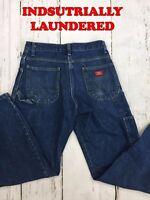 Dickies Carpenter Jeans Industrial Blue Men Work Uniform SOLD IN SINGLES & PACKS