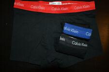 Calvin Klein Herren Boxershorts Unterwäsche 3 Low Rise Trunks schwarz Gr.M