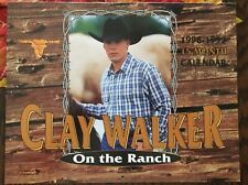 Clay Walker 15 Month Calendar - On the Ranch ('96 - '97)